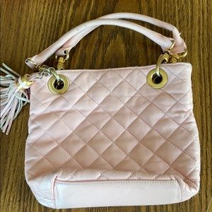 Handbags - Pink Quilted Bag